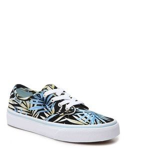 Vans Camden Black and Blue Palms Unisex Sneakers